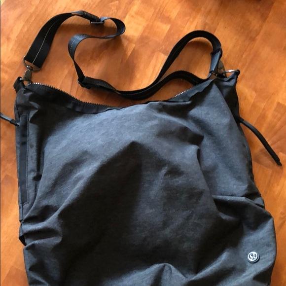 Convertible backpack over shoulder bag